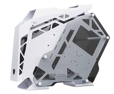 Cougar Conquer White Mid Tower 3 x LED Fan Gaming Case